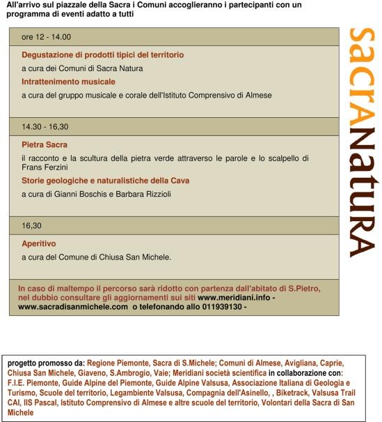 Programma 28 Maggio 2016